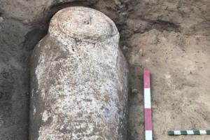 В Египте открыли каменный саркофаг с двумя мумиями