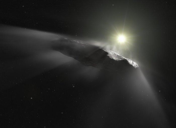 Астрономы вычислили первый метеор из межзвездного пространства