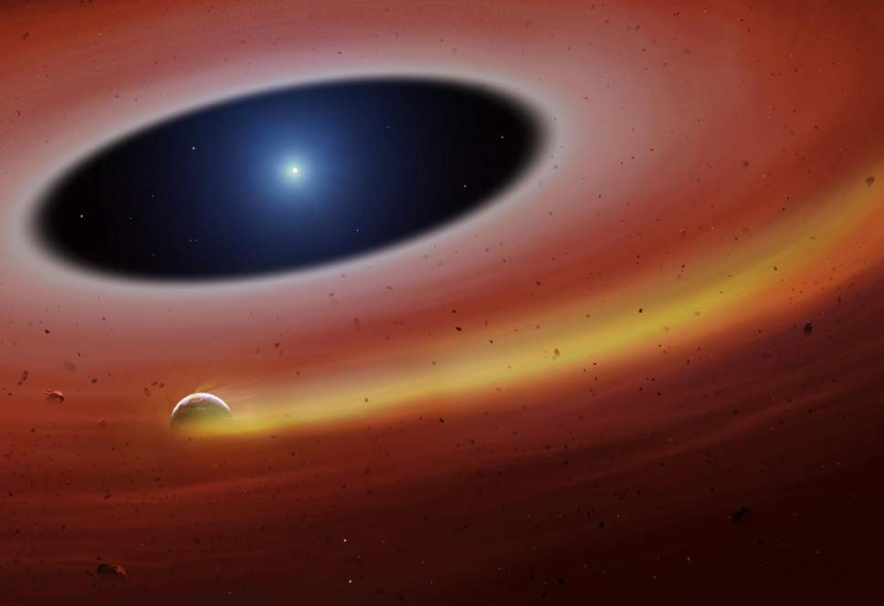 Астрономы нашли обломок экзопланеты у мертвой звезды