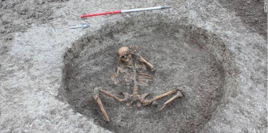 Около Оксфорда обнаружили необычное захоронение