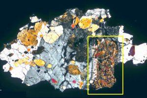 В метеорите, прибывшем с Марса, нашли следы микроорганизмов
