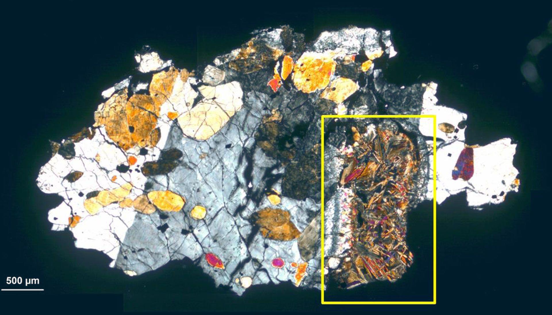 В метеорите, прибывшем с Марса, нашли следы микроорганизмов.Вокруг Света. Украина