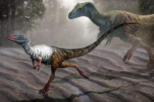 Ученые показали отпечатки самого мелкого динозавра