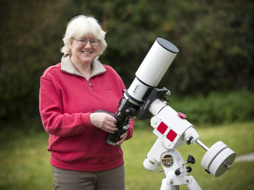 60-летняя пенсионерка выиграла фотоконкурс NASA