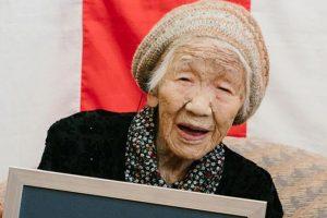 Самым старым человеком официально признана 116-летняя Кейн Танака