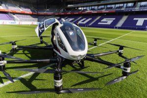 В Вене представили беспилотное летающее такси
