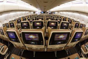 Airbus представил «умный» салон самолета