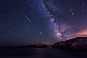 Первый апрельский звездопад: когда наблюдать за Лиридами