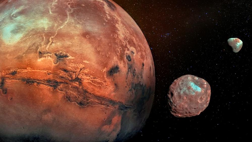 Curiosity  снял два солнечных затмения на Марсе подряд