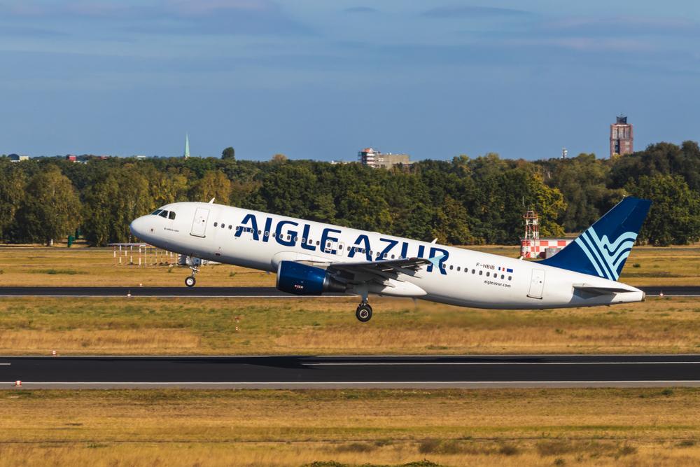 Aigle Azur выполнил свой первый рейс в Киев