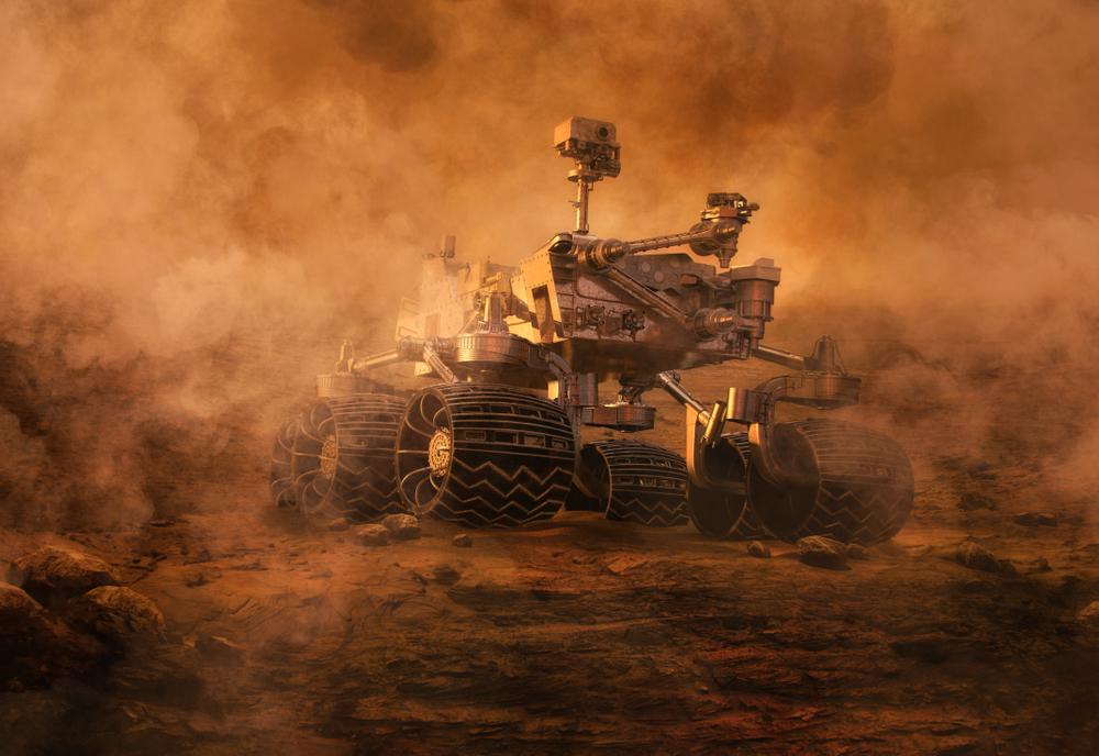 Воду с Марса сдула пылевая буря