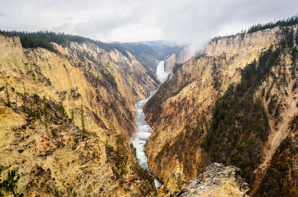 В Йеллоустонском парке открыли новую геотермальную зону.Вокруг Света. Украина