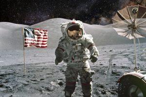 Космические археологи изучат человеческий мусор на Луне
