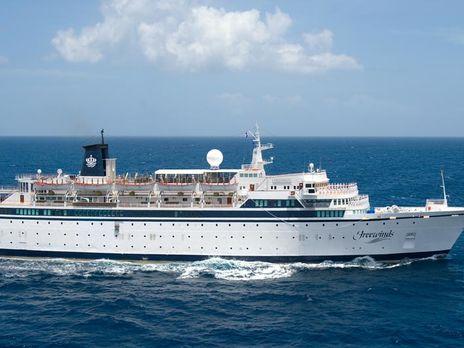 Круизное судно в Карибском море изолировали из-за вспышки кори.Вокруг Света. Украина