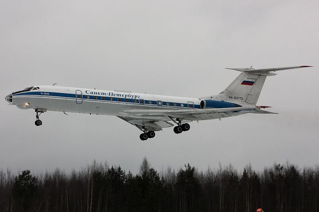 Ту-134 совершил последний рейс