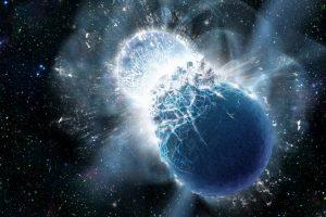 Астрономы впервые услышали «отрыжку» черной дыры, пообедавшей нейтронной звездой
