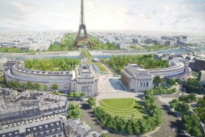 Возле Эйфелевой башни появится зеленый коридор