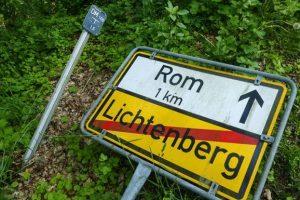 Навигатор привел британца в Германию вместо Рима