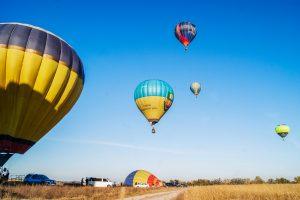 Под Киевом откроется первый в мире шародром - аэродром для воздушных шаров
