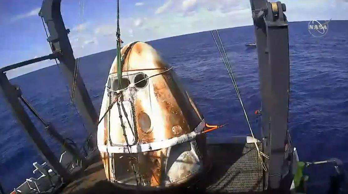 SpaceX признала, что пассажирская капсула Crew Dragon уничтожена во время тестов