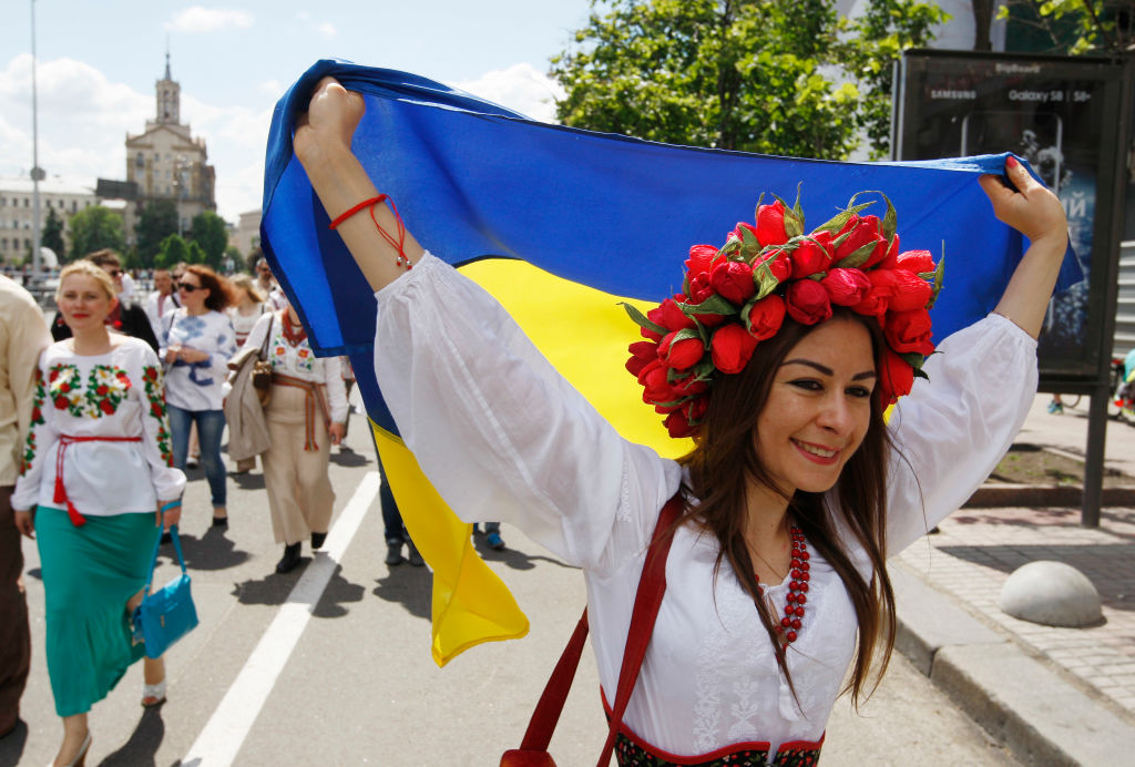 День вышиванки в Украине