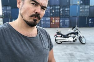 Олег Фагот Михайлюта: «Завжди мріяв підкорити Карпати на мотоциклі»