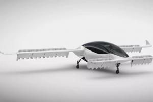 В Германии представили летающее такси