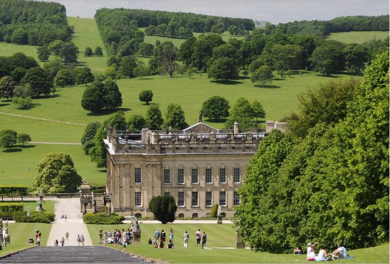 дворец Chatsworth