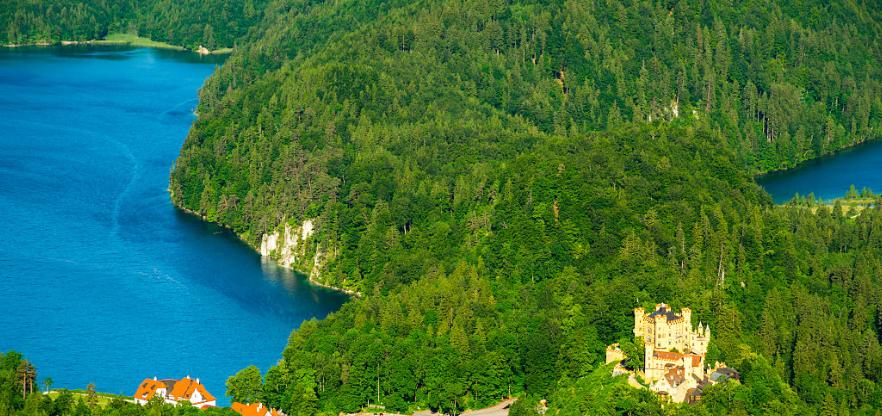 Швангау озеро