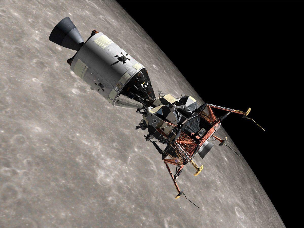 spacecraft found on moon - 736×552