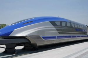 В Китае представили маглев, разгоняющийся до 600 км/час