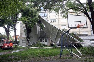 По Хорватии пронесся сокрушительный ураган