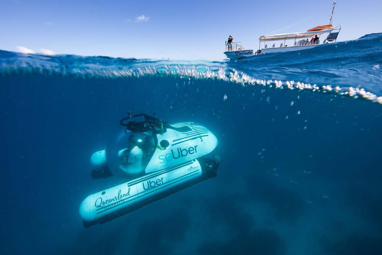 Uber запускает в Австралии подводное такси
