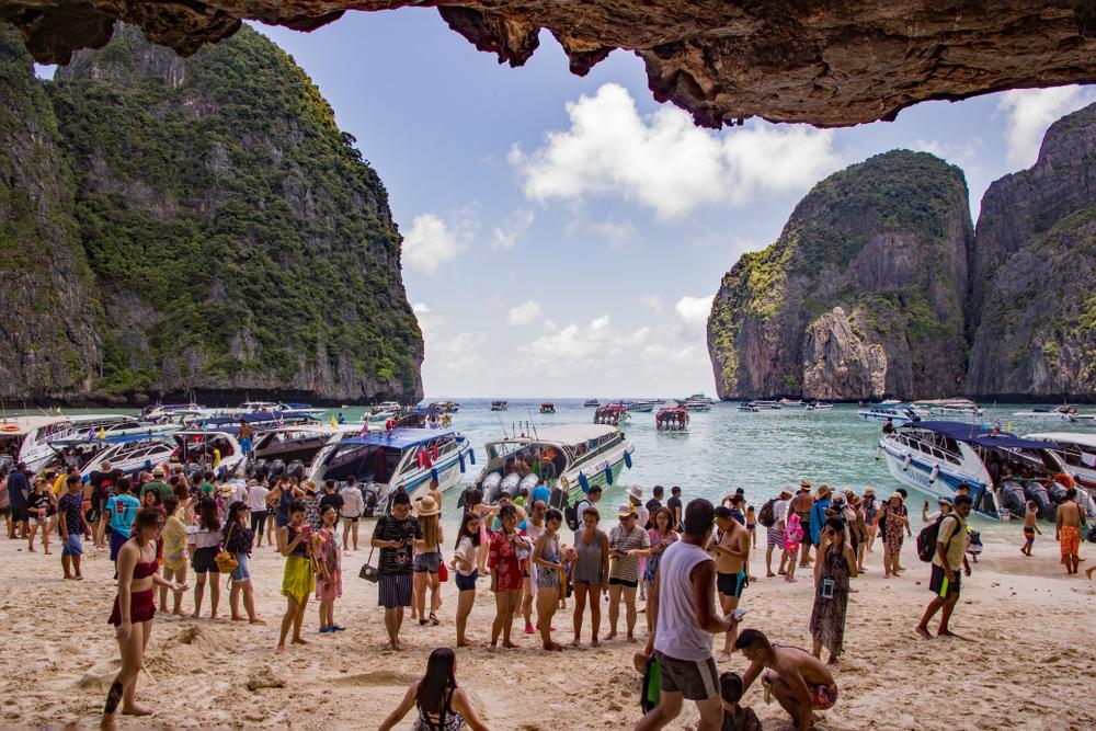 В Таиланде из-за туристов закрыли один из популярнейших пляжей.Вокруг Света. Украина