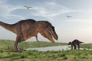 Динозавры могли ходить как на четырех, так и двух лапах