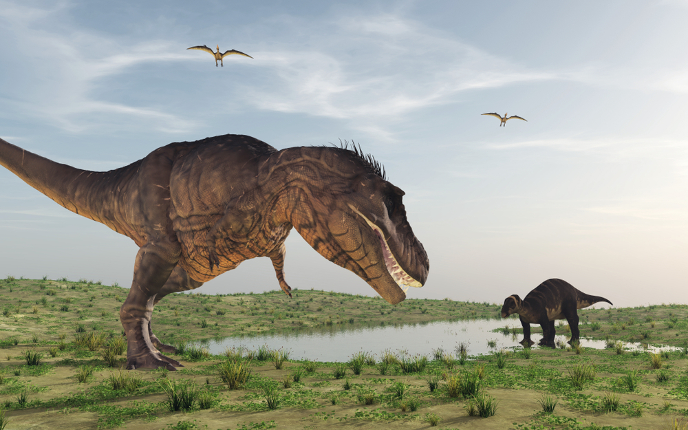 Динозавры могли ходить как на четырех, так и двух лапах.Вокруг Света. Украина