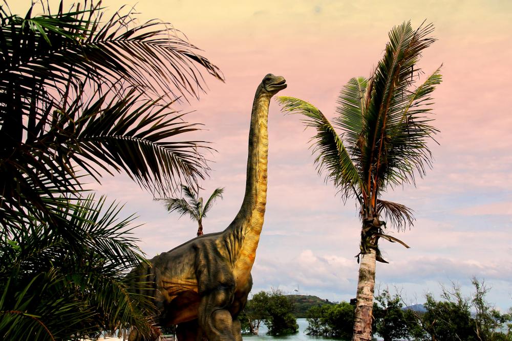 Гигантские динозавры ходили на каблуках