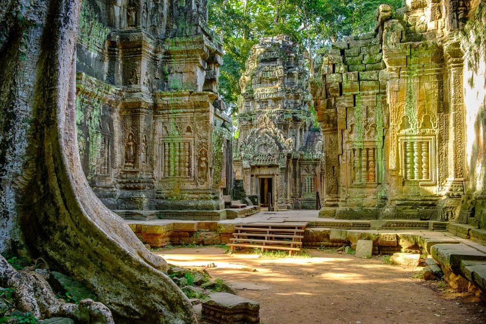 В камбоджийских джунглях нашли 100 храмов, построенных 15 веков назад