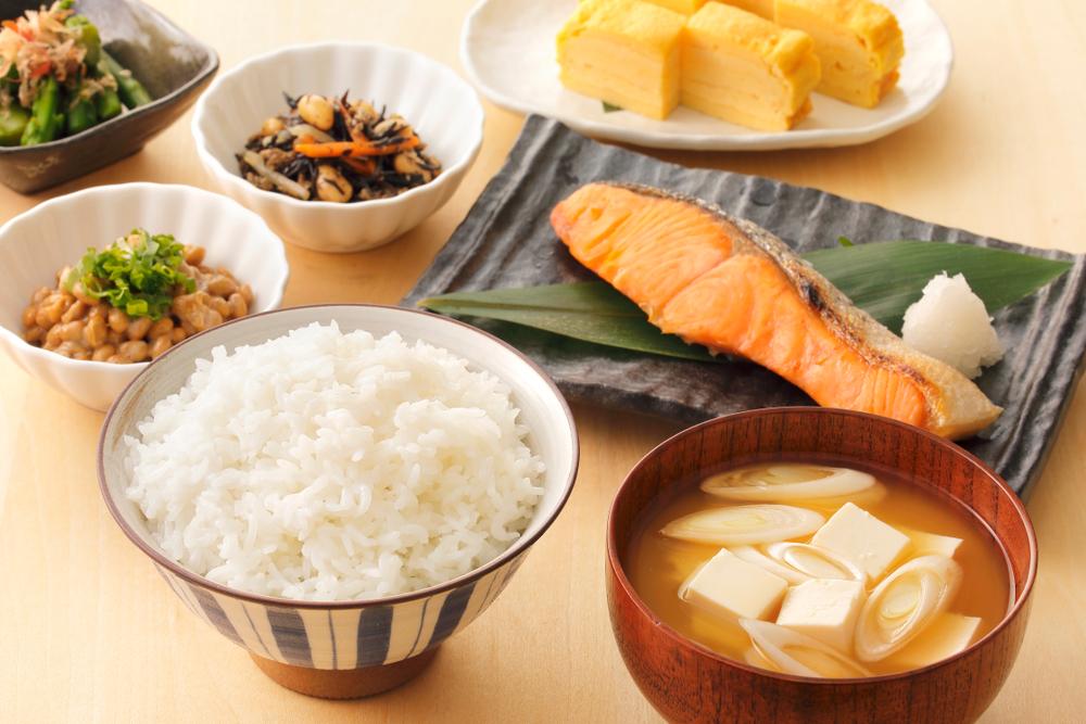японский завтрак