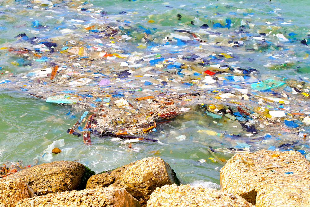 В море у Корсики нашли остров из мусора