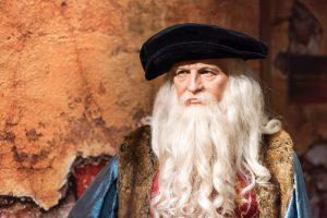 В США нашли волосы Леонардо да Винчи