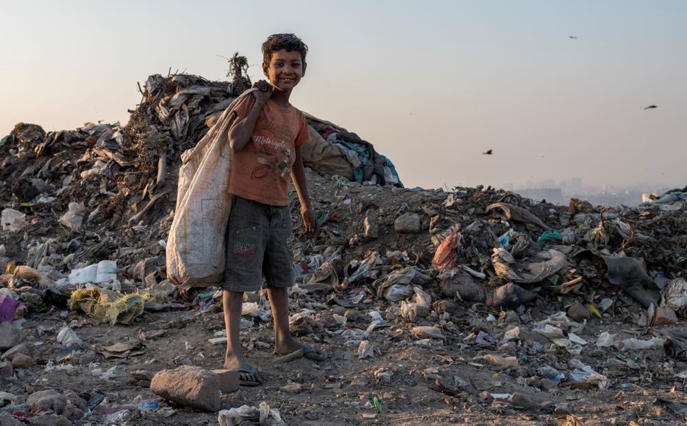 В Индии школьники платят пластиком за обучение