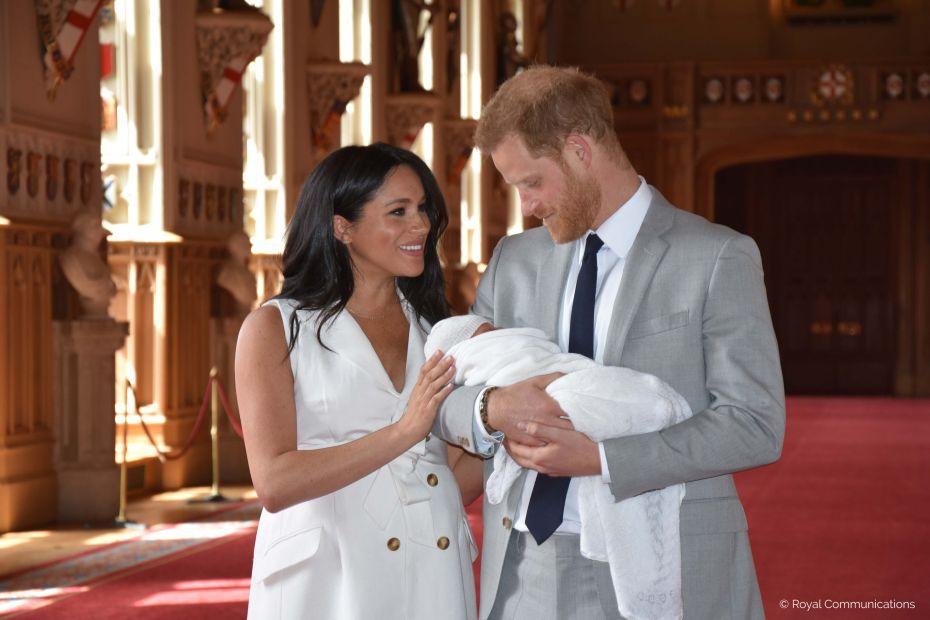 Названы имя и титул первенца принца Гарри и Меган Маркл