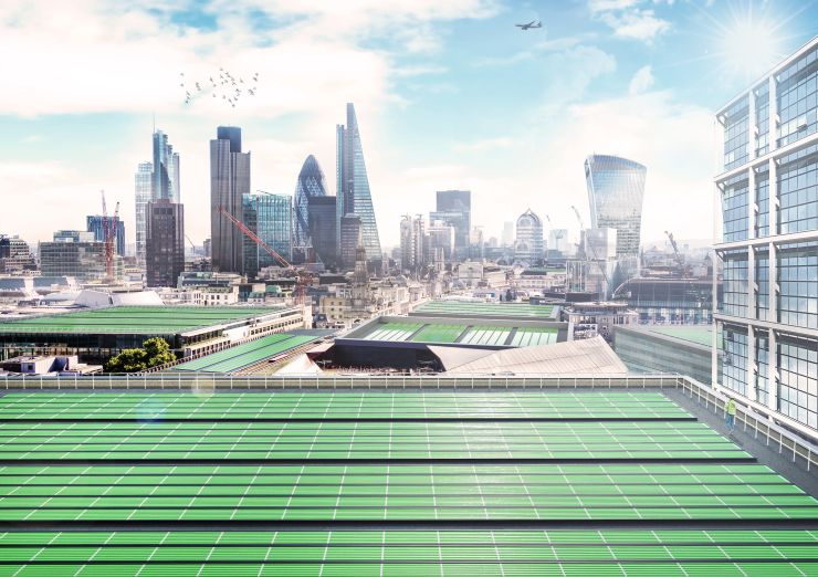В Лондоне поселят на крышах планктон, чтобы очистить воздух