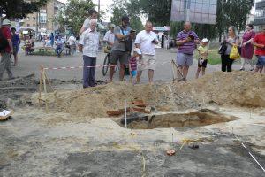 В центре Чернигова археологи обнаружили постройки времен Киевской Руси