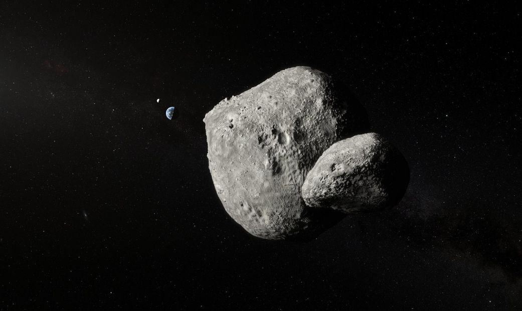 Появилось фото двойного астероида, пролетевшего мимо Земли.Вокруг Света. Украина