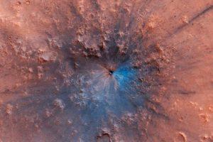 Астрономы обнаружили новый кратер на Марсе