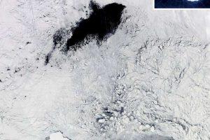 Найдены причины гигантских дыр в ледяном покрове Антарктиды