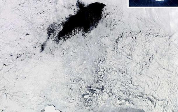 Найдены причины гигантских дыр в ледяном покрове Антарктиды.Вокруг Света. Украина