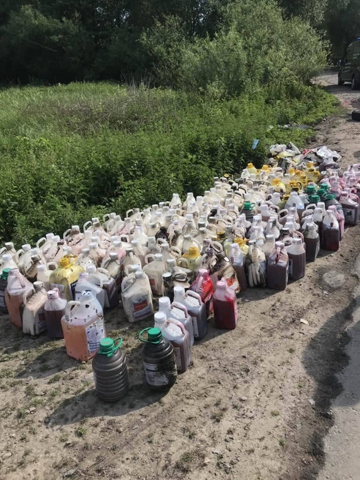 Экологическая катастрофа в Украине: в реку Рось попали химикаты.Вокруг Света. Украина